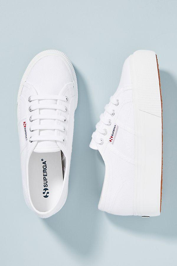 Superga Platform Sneakers $80
