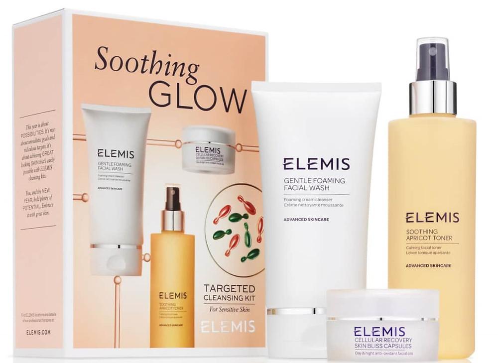 Elemis Soothing Glow Cleansing Kit $59