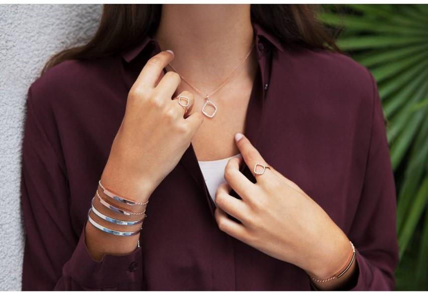 Monica Vinader Linear Friendship Chain Bracelet $195.90