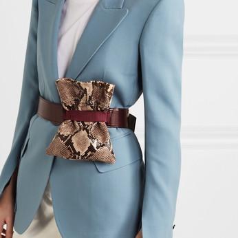The Belt Bag & Fanny Pack & Bum Bag Look