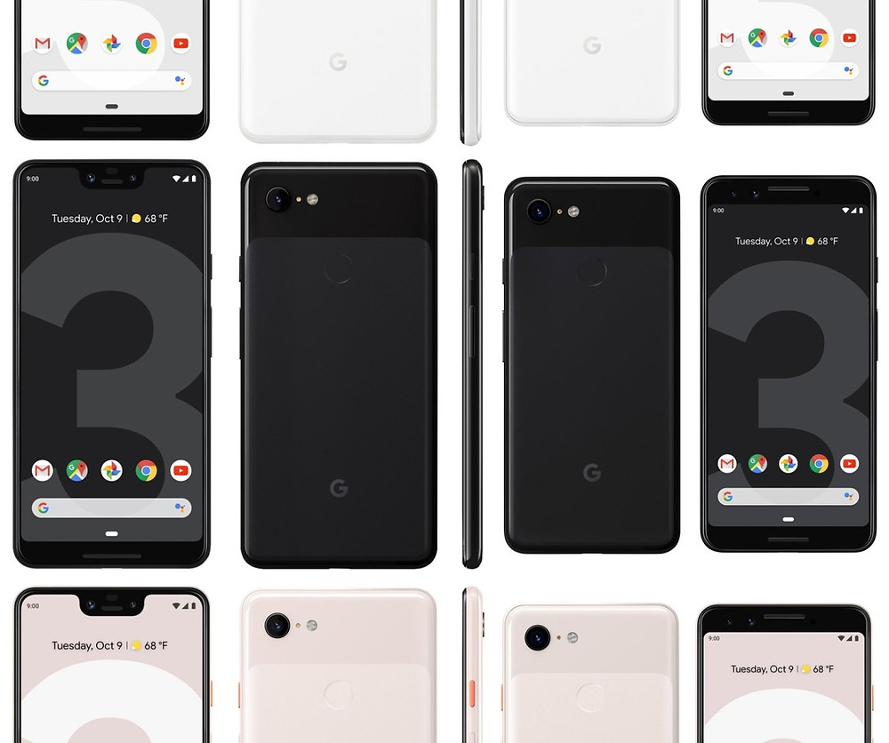 Pixel 3, Pixel 3 XL pictures leak for what might be the last time - Read More from Engadget