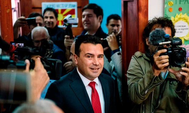 Macedonian name change referendum hit by low turnout - Read More from The Guardian