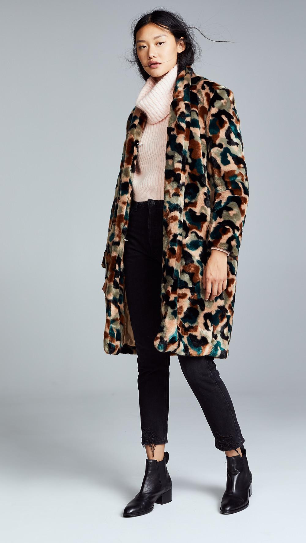 By Malene Birger Faux Fur Camula Coat $950