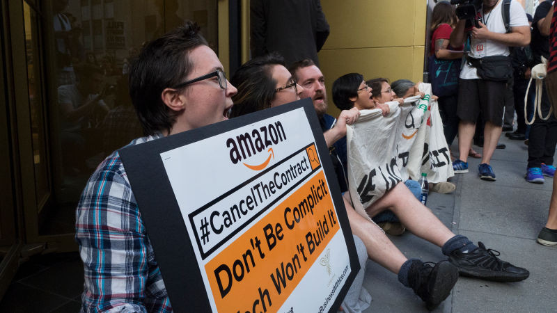 Six Arrested at Amazon Store Amid Anti-ICE Protest in NYC - Read More from Gizmodo