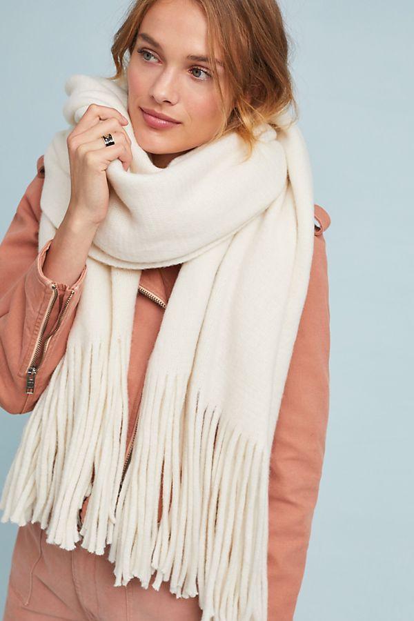Anthropologie Cozy Blanket Scarf $48
