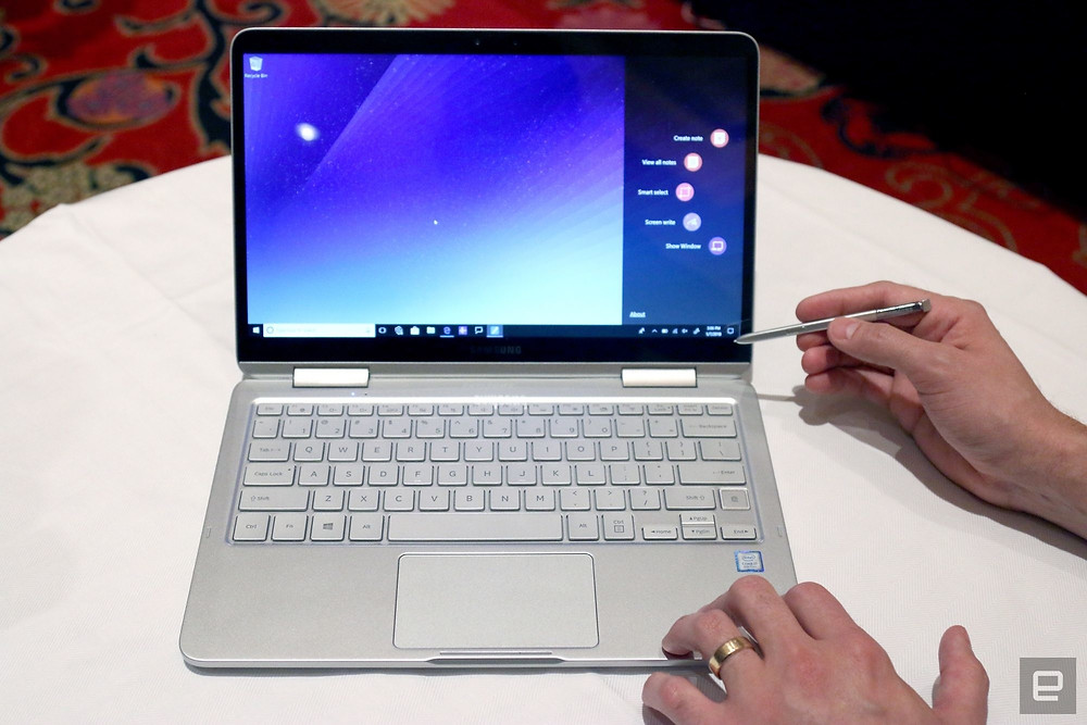 Samsung's Notebook 9 Pen is a super-light Galaxy Note/laptop mashup - Read More from Engadget