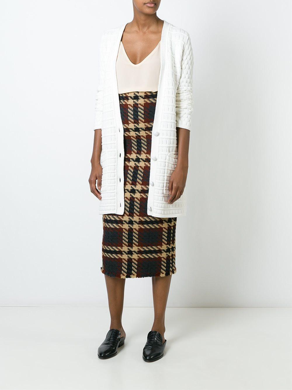 Erika Cavallini Checked Skirt $520.41