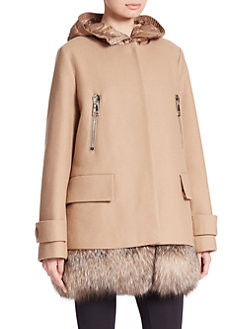 Moncler-with a touch of fur