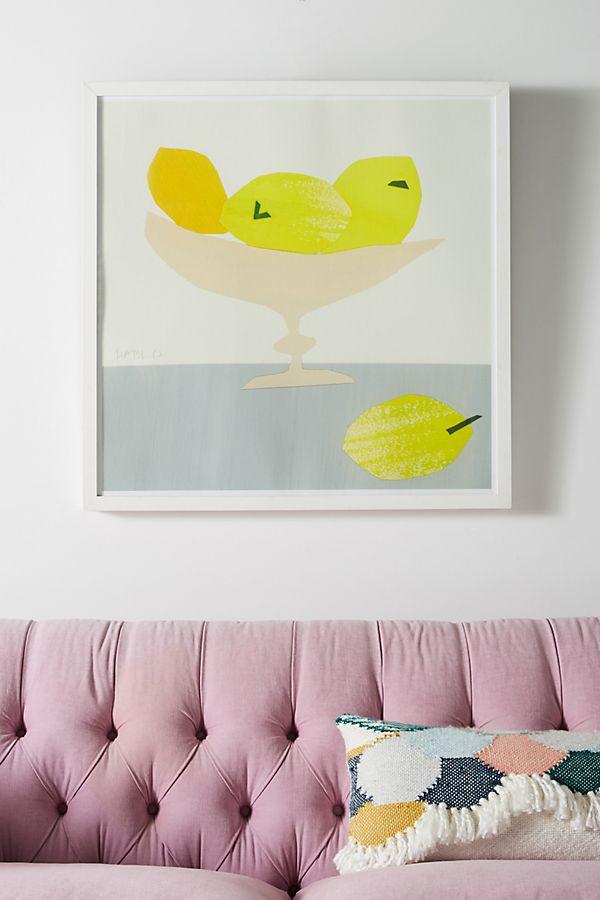 Still Life Series - Lemons Wall Art $648