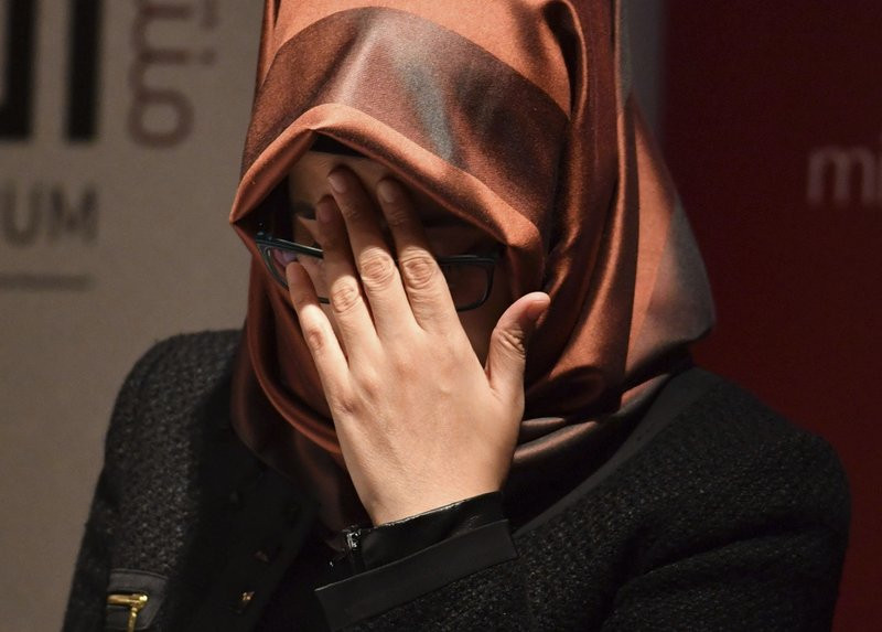 Khashoggi's fiancee calls on Trump to prevent 'cover-up' - Read More from Associated Press