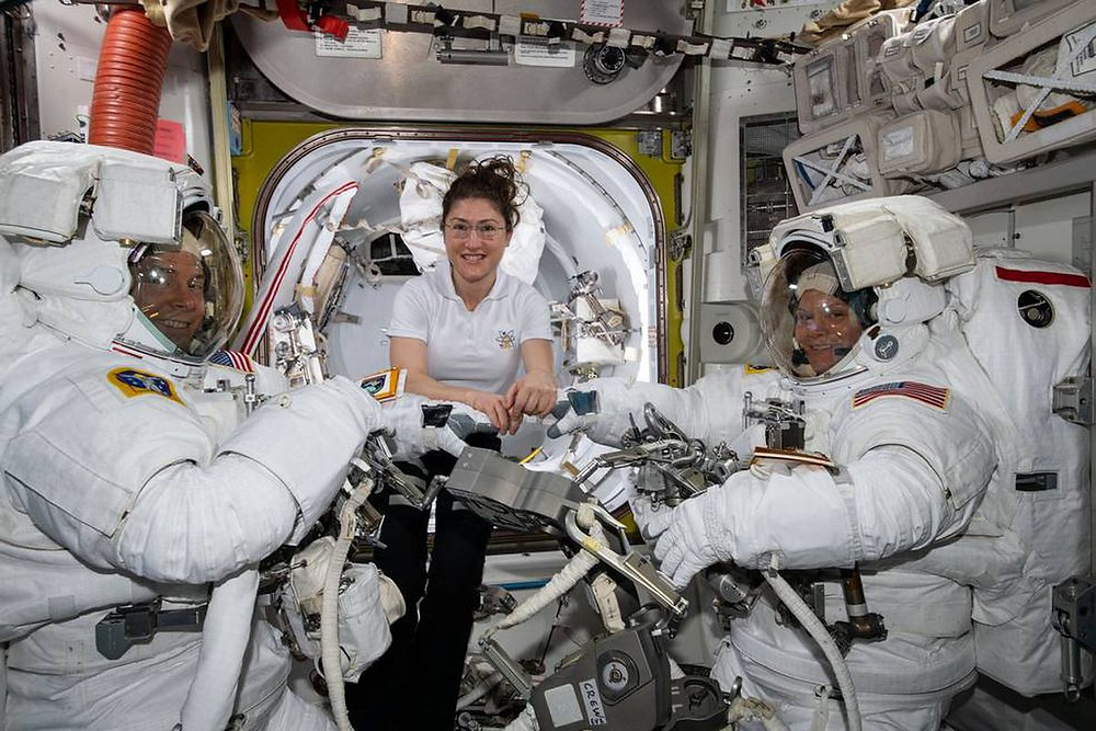 NASA is no longer planning to conduct its first all-women spacewalk this week - Read More from The Verge