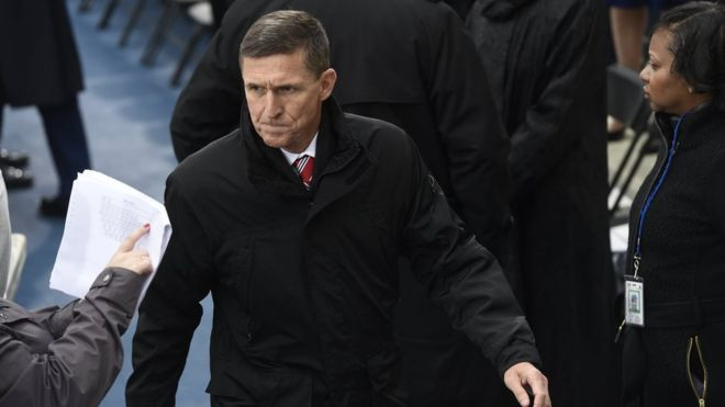 Flynn said Russia sanctions would be 'ripped up' - congressman - Read More from BBC News
