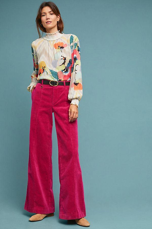 ett:twa Wide-Wale Corduroy Trousers $128