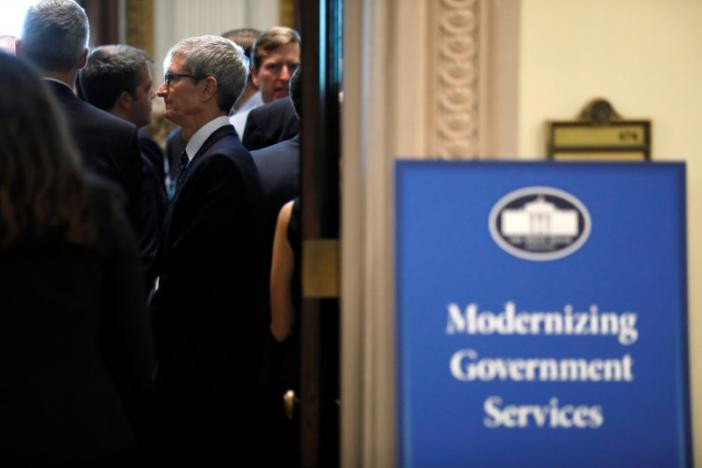 Trump to meet with tech CEOs on government overhaul - Read More from Reuters