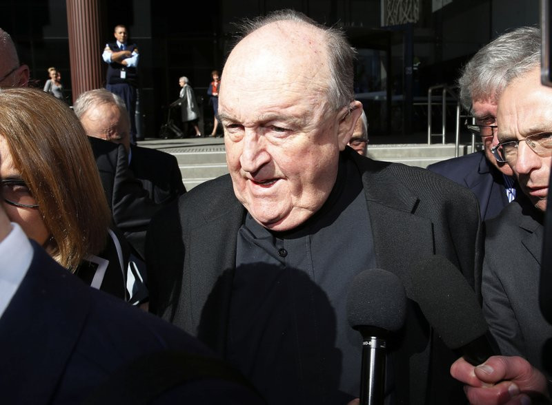 Australia archbishop gets house detention for abuse cover-up - Read More from Associated Press