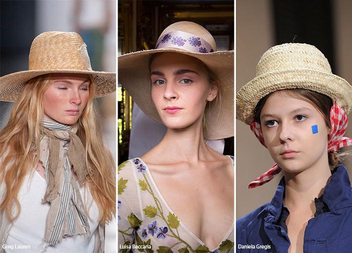 Spring/ Summer 2016-Runway looks of Beach straw hats-shop straw hat from OndadeMar $120