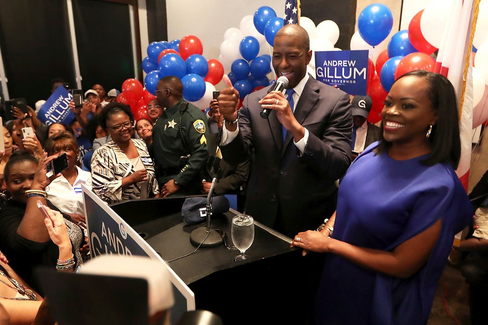 A Black Progressive and a Trump Acolyte Win Florida Governor Primaries - Read More from The New York Times