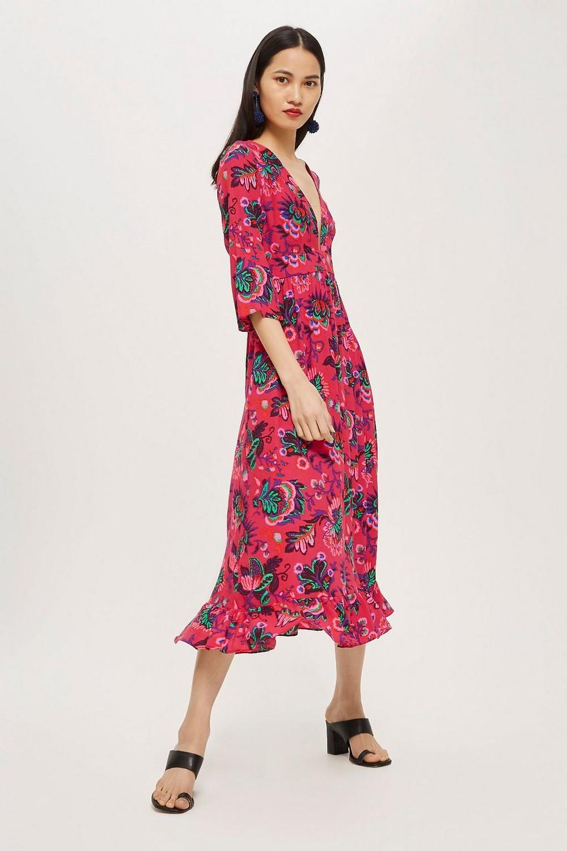 Culture Print Smock Dress $55