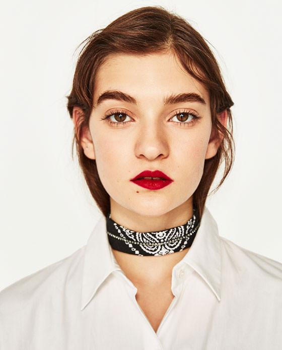 Zara Bandana Style Choker now $5.99