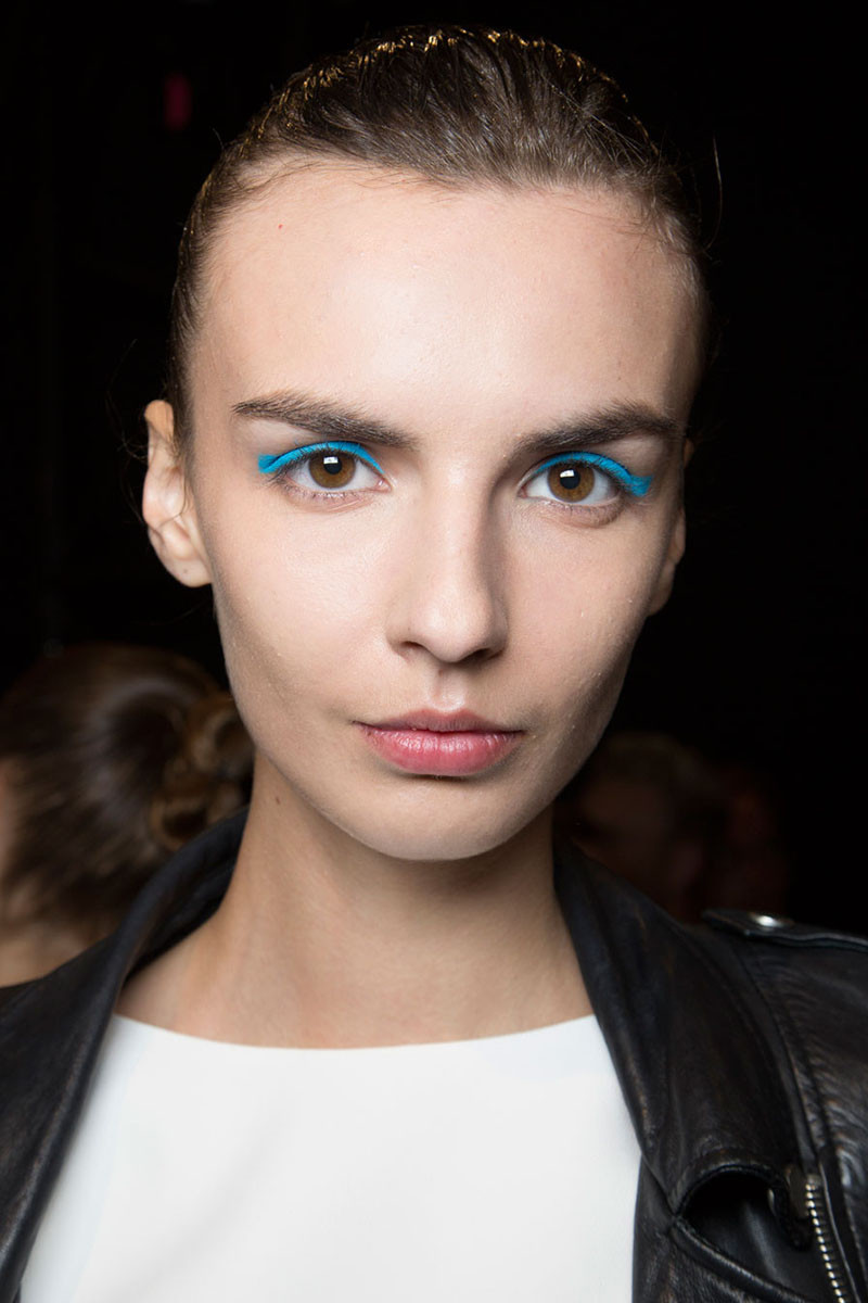 Monique Lhulilier Spring/Summer 2016 (shop similar eye shadow)