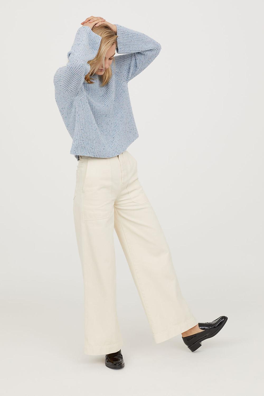 H&M Rib-knit Sweater $14.99