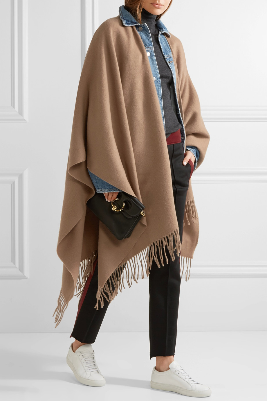 Acne Studios Fringed wool wrap $360