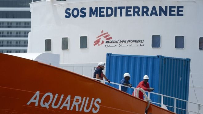 The Aquarius: Migrant rescue ship has registration revoked - Read More from BBC News