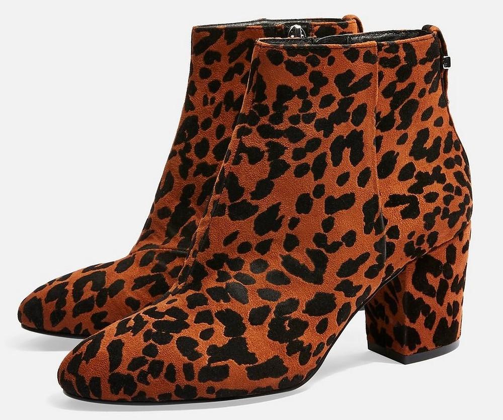 BROOKLYN Block Heel Boots $60
