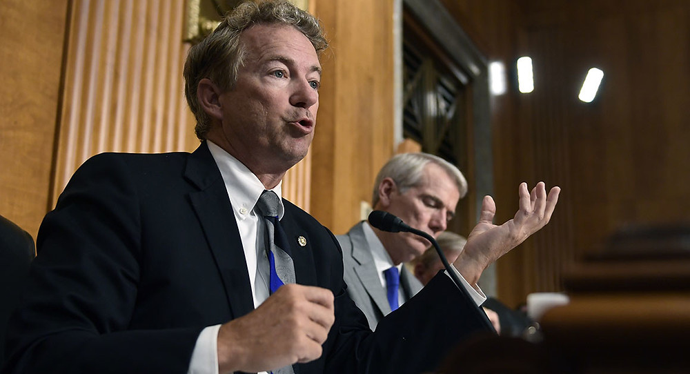 Election meddling bill would curb president's power, Paul warns - Read More from Politico