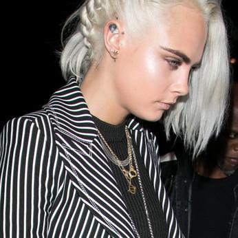 Sporting The Silver/Grayish Hair Look