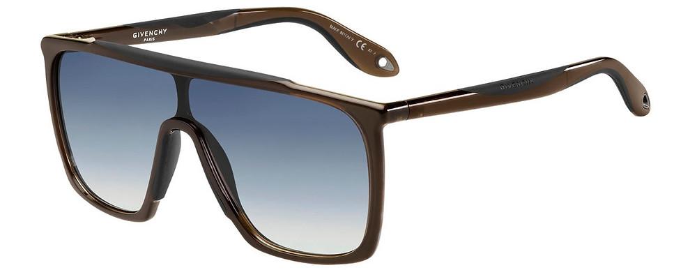Givenchy Square Gradient Shield Sunglasses $325