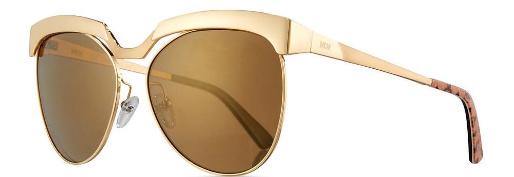 MCM Classic Mirrored Cat-Eye Sunglasses $326