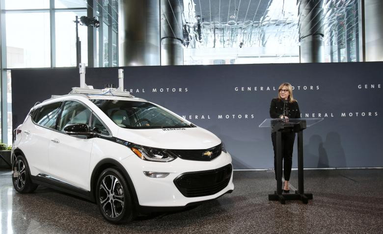 GM plans to build, test thousands of self-driving Bolts in 2018 - sources - Read More from Reuters