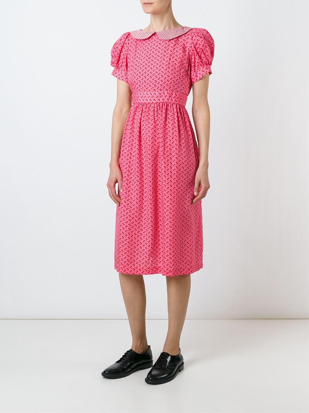 Comme Des Garcons Girl Peter Pan collar dress now $488.60