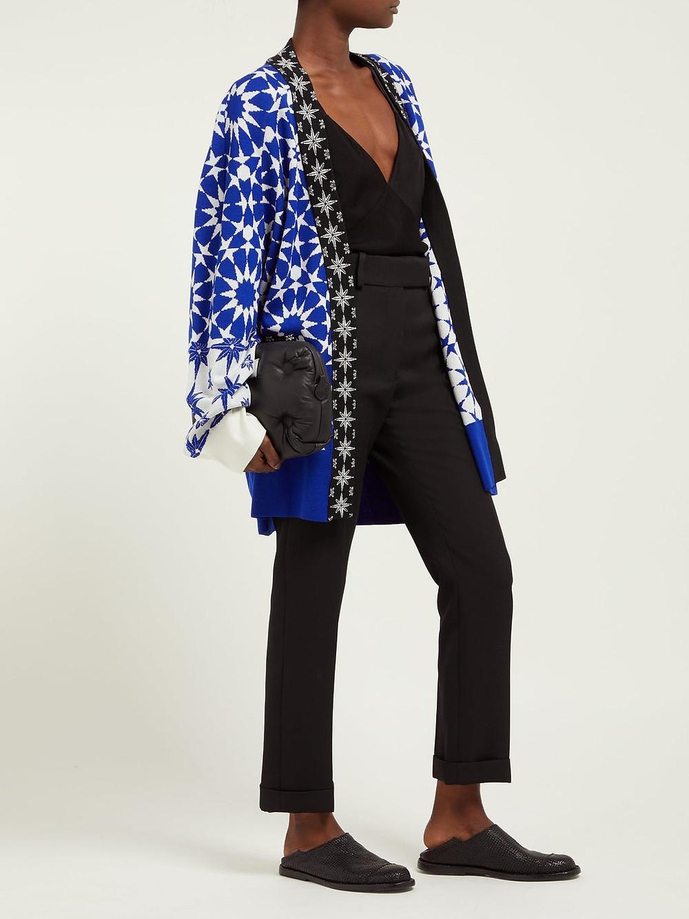 Haider Ackermann Salinas cashmere-blend oversized cardigan $652