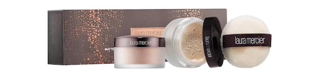 Laura Mercier Custom Setting Matte & Glow Translucent Loose Setting Powder Duo $38