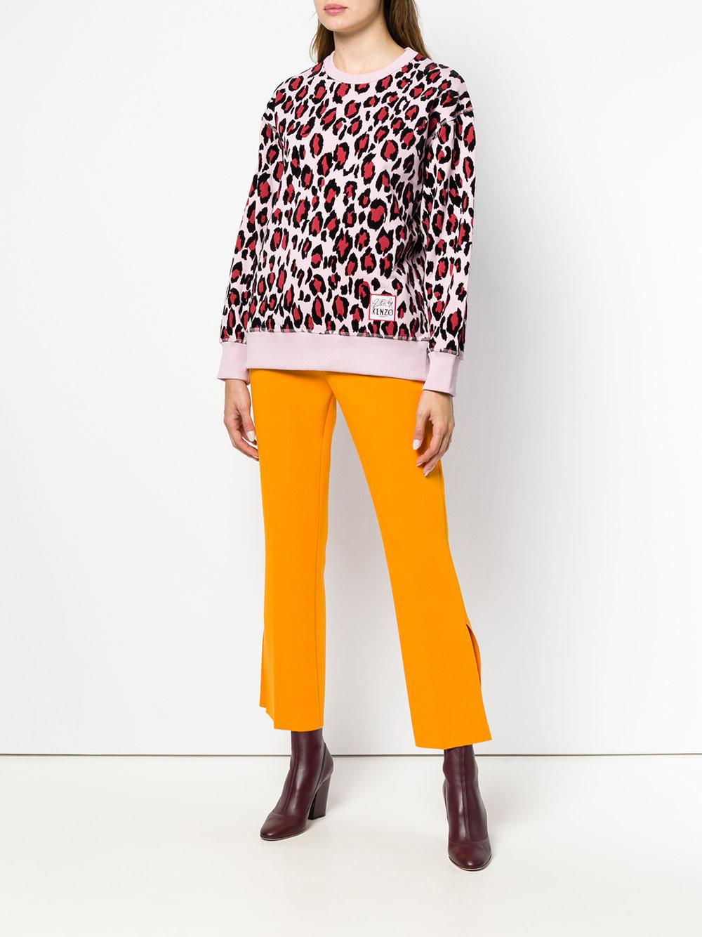 Kenzo leopard print sweatshirt $500