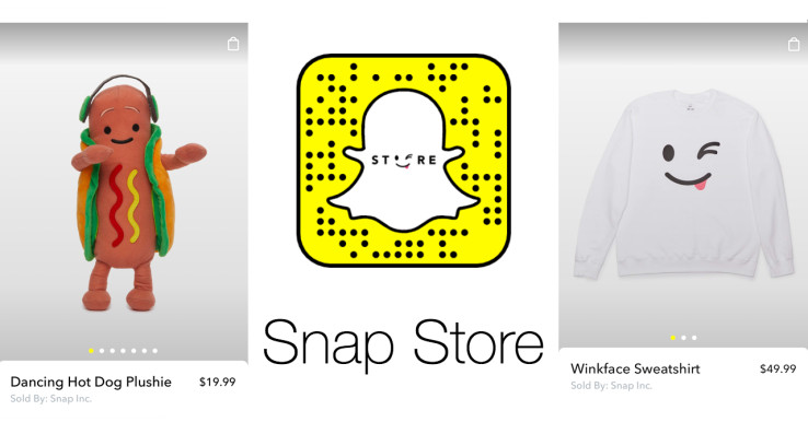 Snapchat launches in-app Snap Store to sell merch - Read More from Techcrunch