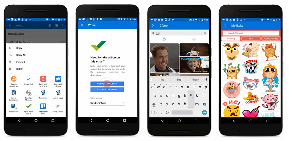 Microsoft brings app add-ins to Outlook on Android - Read More from Engadget