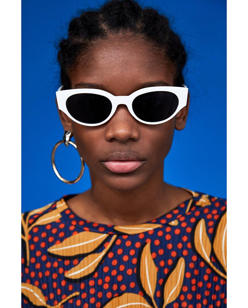 Zara Futuristic Retro Sunglasses $25.90