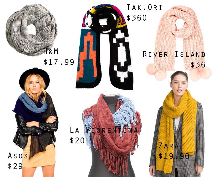 scarfs for my budget conscious girls