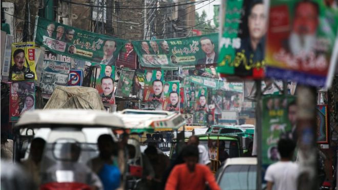 Pakistan's Imran Khan vies for power as country heads to polls - Read More from BBC News
