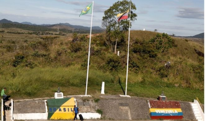 Brazil closes border to Venezuela migrants - Read More from BBC News