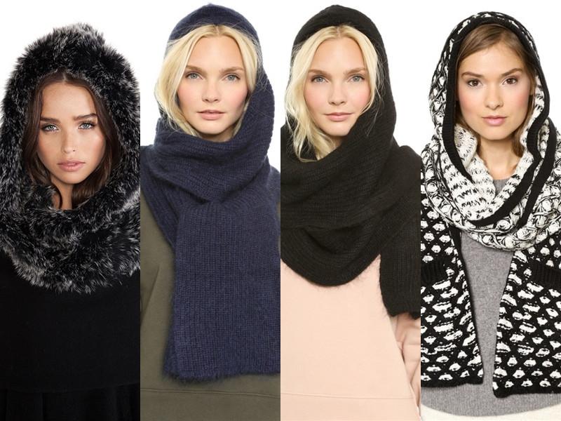 Hooded scarfs