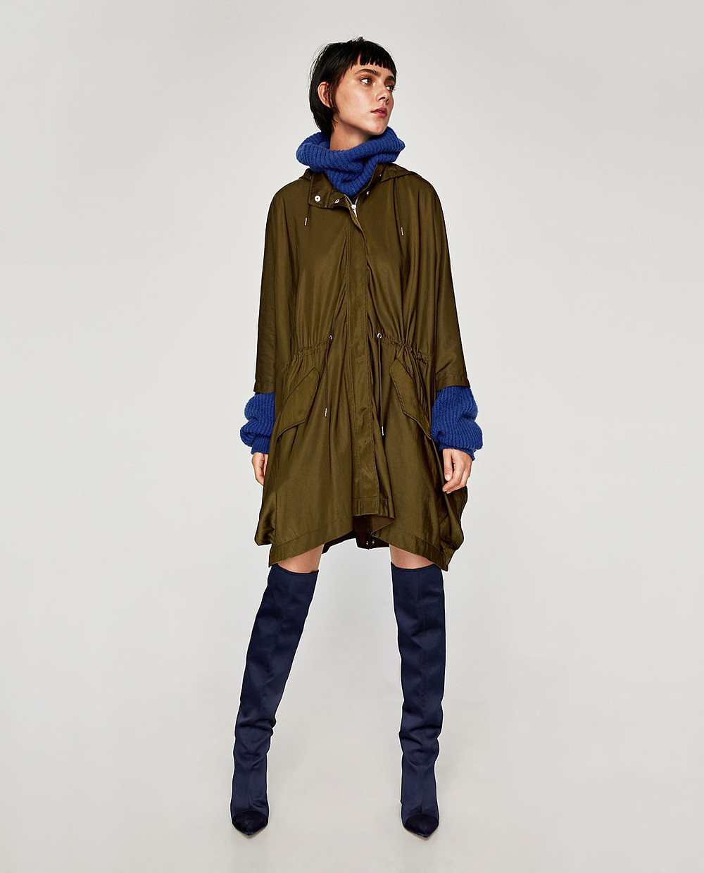 Zara oversized Cape $119