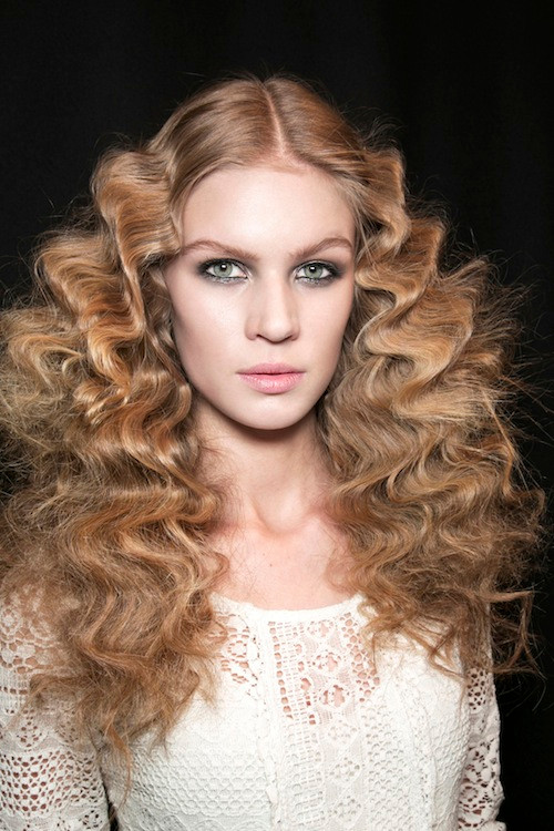 Just Cavalli (Shop products to get a curly do)