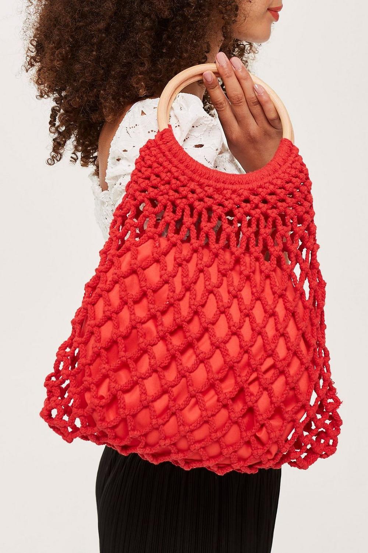 Topshop Benny String Shopper Bag $40