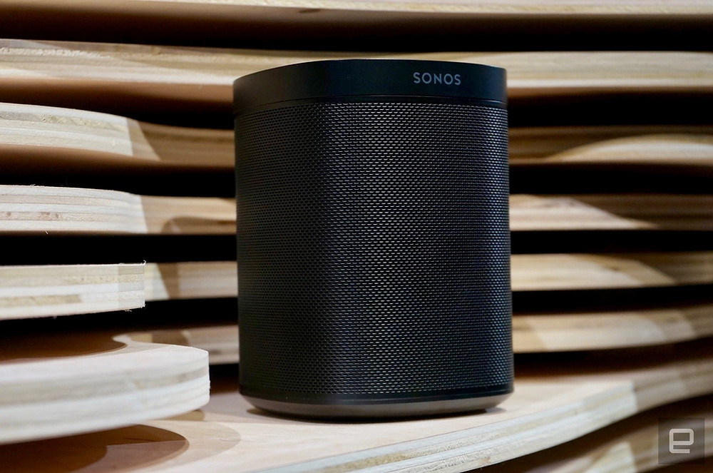 Alexa's intercom-like announcements arrive on Sonos One and Beam - Read More from Engadget