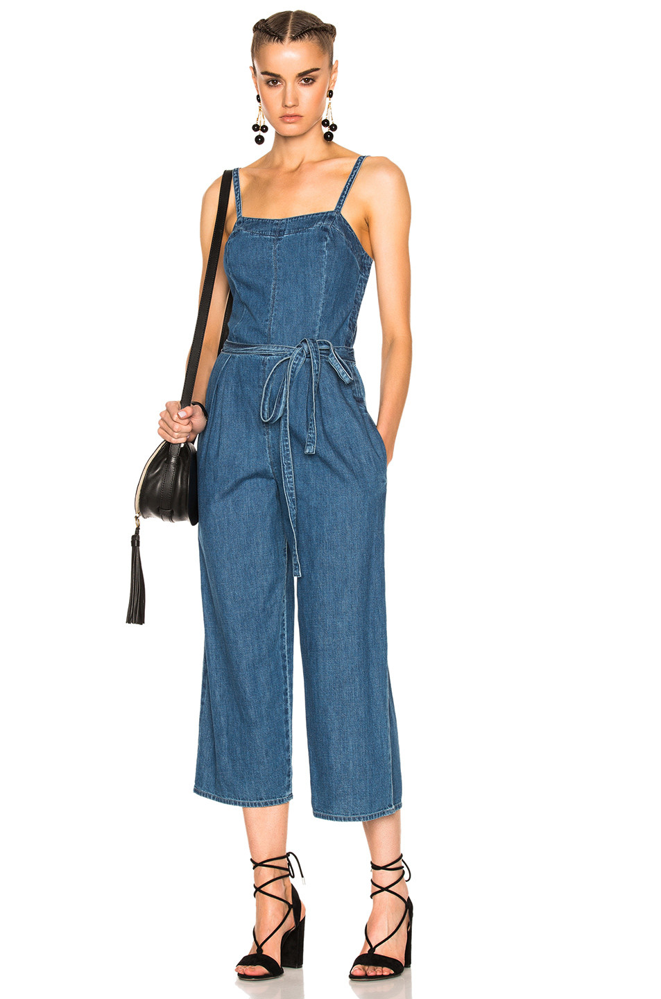 AG Adriano Goldschmied Giselle Jumpsuit $218
