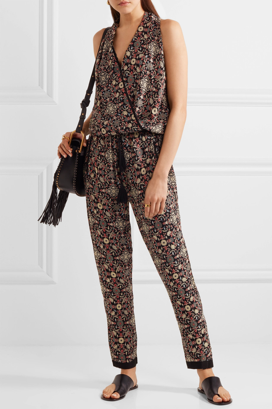Talitha Raj printed silk-georgette jumpsuit $815